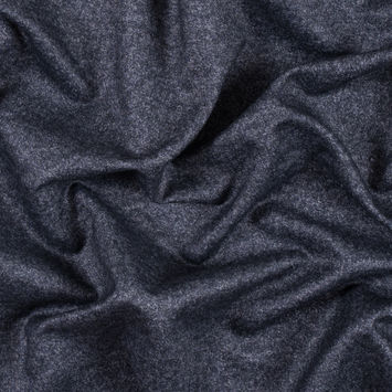 Italian Gray and Silver Water Repellent Polyester Suiting