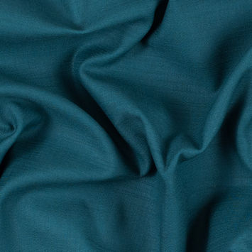 Teal Green Cotton Dobby