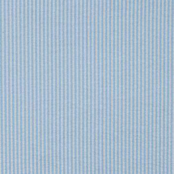 Light Blue Candy Striped Seersucker