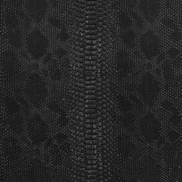 Black Vinyl Snakeskin