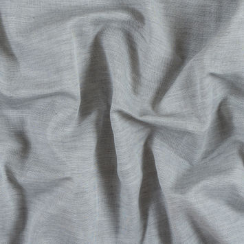 Gray Violet Cotton Double Cloth