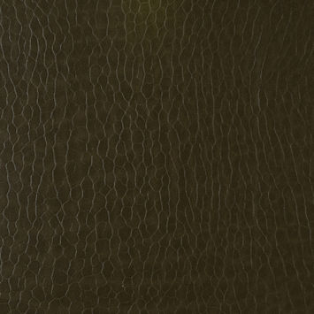 Nutria Pebble Embossed Stretch Faux Leather with a Black Viscose Backing