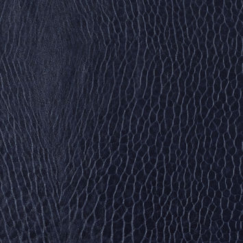 Nightshade Pebble Embossed Stretch Faux Leather with a Black Viscose Backing