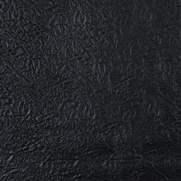 Black Embossed Faux Leather with a Navy Fabric Backing
