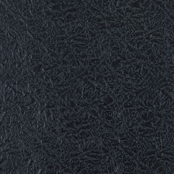 Dark Shadow Embossed Faux Leather with a Black Fabric Backing