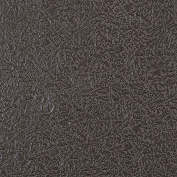 Chocolate Brown Embossed Faux Leather with a Black Fabric Backing