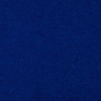 Dazzling Blue Mohair Wool Boucle