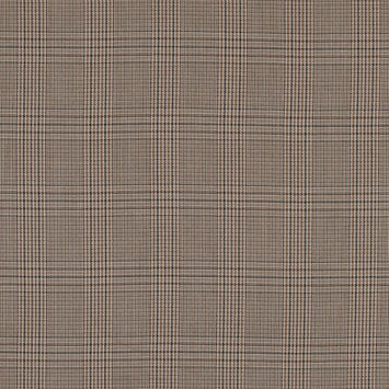 Sesame Glen Plaid Polyester Suiting