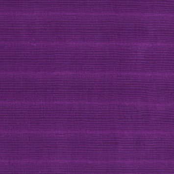 Oscar de la Renta Amethyst Striated Yarn Double Silk Organza