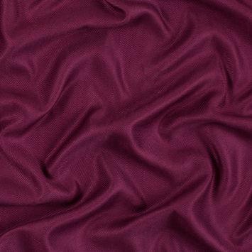 Purple Potion Viscose Batiste with a Woven Off Kilter Chevron Design