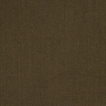 Fir Green and Parchment Twill Wool Double Cloth