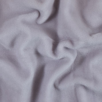 Famous NYC Designer Violet Ice Single-Sided Wool Fleece with Woven Backing