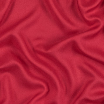 Fiery Red Fine Viscose Voile