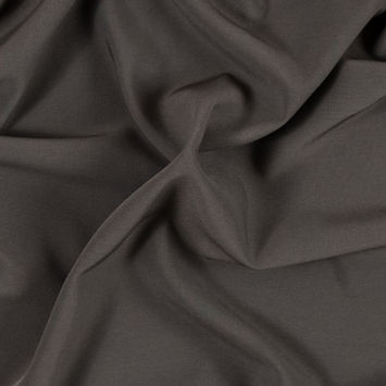 Major Brown Stretch Polyester Suiting