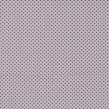 Jay Godfrey Pale Lilac Perforated Stretch Faux Leather with White Faux Suede Backing