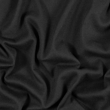 Black Stretch Polyester Thermal