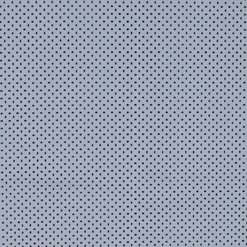 Jay Godfrey Minimal Gray Perforated Stretch Faux Leather with White Faux Suede Backing