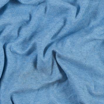 Heather Slate Stretch Tubular Rib Knit