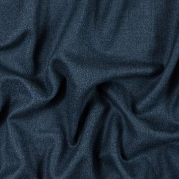 Insignia Blue Brushed Wool Twill