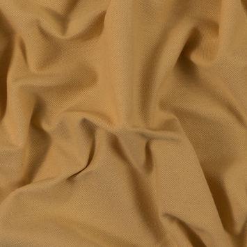 Goldenrod Yellow Cotton Knit Pique