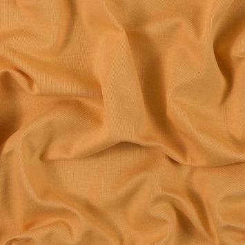 Orange Cotton Knit Pique