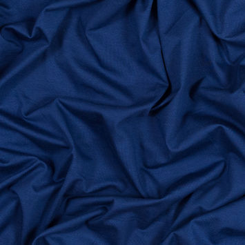 Evening Sapphire Stretch Cotton and Modal Jersey