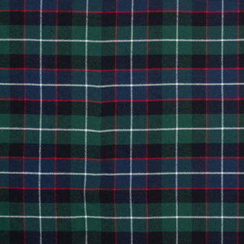 Green and Blue Plaid Cotton Flannel