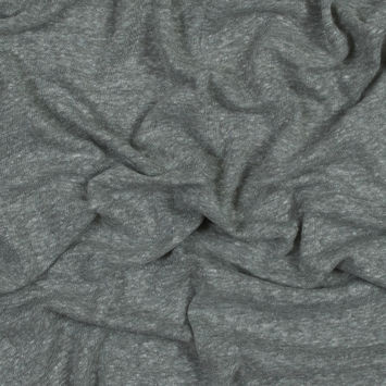 Heather Ash Linen and Polyester Knit
