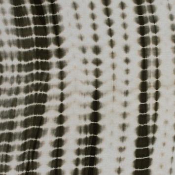 Olive Tie Dye Rayon Jersey