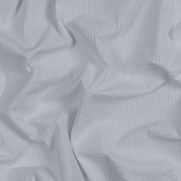 White Cotton Seersucker