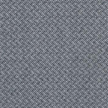 Black and White Zig Zag Wool Coating