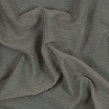 Theory Light Sage Silk and Cotton Voile