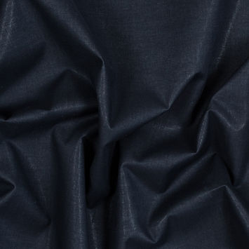 Theory Abbey Stone Cotton Shirting fused to an Eclipse Blue Stiffener
