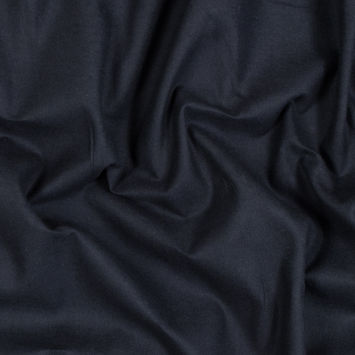 Theory Navy Single-Sided Cotton Flannel