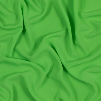 Neon Green Polyester Woven