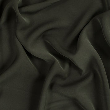 Rifle Green Double-Faced Polyester Twill