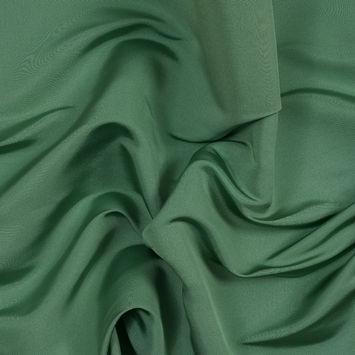 Carolina Herrera Stone Green Silk Faille