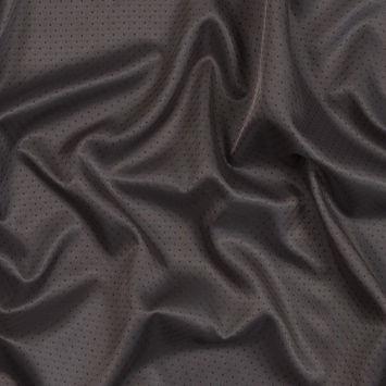 Dark Taupe Geometric Polyester Dobby Lining