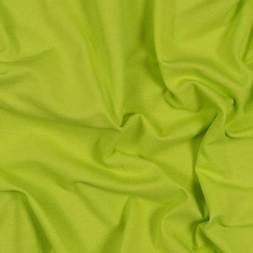 Lime Cotton Knit Pique