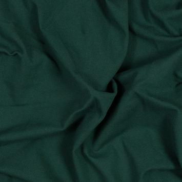 Hunter Green Cotton Knit Pique