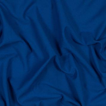 Royal Blue Cotton Knit Pique