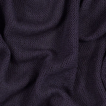Nightshade Purple Wool Netting