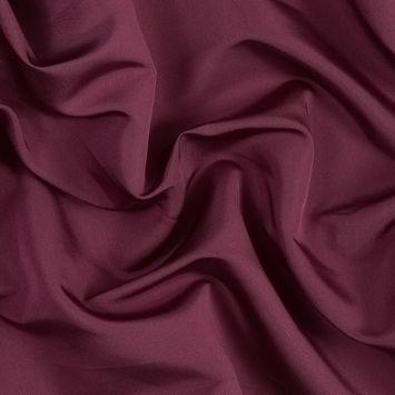 Carolina Herrera Mauve Silk Faille with a Fused Backing
