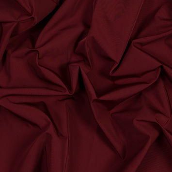 Cranberry Water-Resistant Polyester Twill