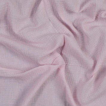 Baby Pink Double Cotton Gauze