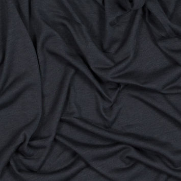 Charcoal Soft Blended Rayon Jersey