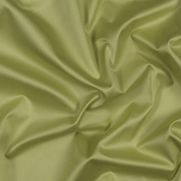 Lime Sea Island Cotton Sateen