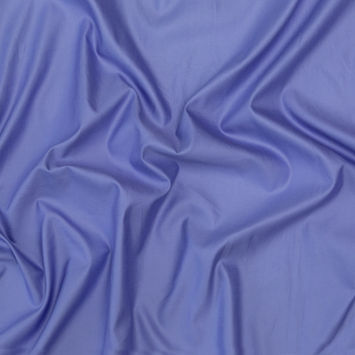 French Blue Sea Island Cotton Sateen