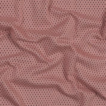Dusty Rose Cotton Crochet Knit
