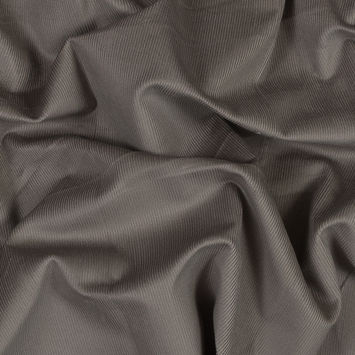 Taupe Stretch Cotton Corduroy